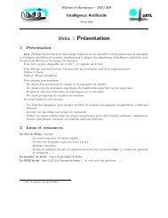 Weka : Présentation - LGI2P