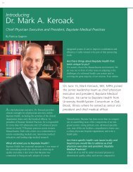 Introducing Dr. Mark A. Keroack - Baystate Health