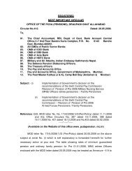 Revision of Pension of Pre 2006 Military Nursing Service