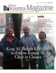 Ignatius Magazine - 2011 Summer - St. Ignatius College Prep