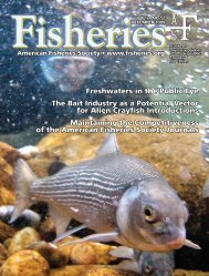 see the December 2009 issue of Fisheries - Www3.carleton.ca ...