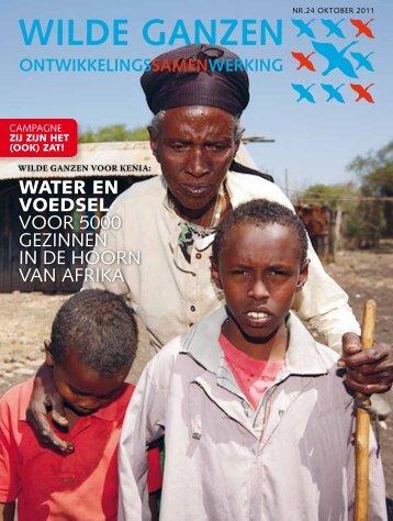 WATER EN VOEDSEL voor 5000 gezinnen in de ... - Wilde Ganzen