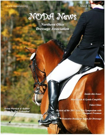 March 2011 - Northern Ohio Dressage Association