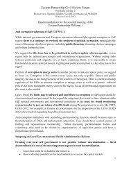 Annex 2 - Eastern Partnership Civil Society Forum
