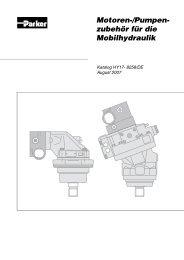 F 11 / F12 Motoren-/Pumpenzubehör für die Mobilhydraulik - Siebert ...