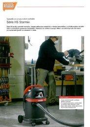 Minikatalog vysavačů Starmix řady HS - TONSTAV-SERVICE sro