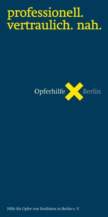 ca.100kB - Opferhilfe Berlin eV