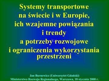 Bez tytu³u slajdu - Ministerstwo Rozwoju Regionalnego