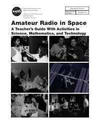 Amateur Radio in Space pdf - Virtual Astronaut