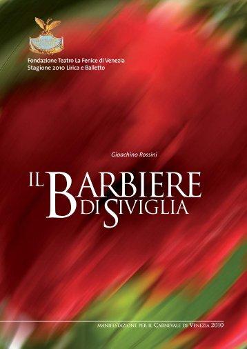 Barbiere di Siviglia - Teatro La Fenice