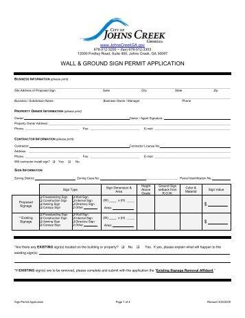 Michigan Building Permit Application
