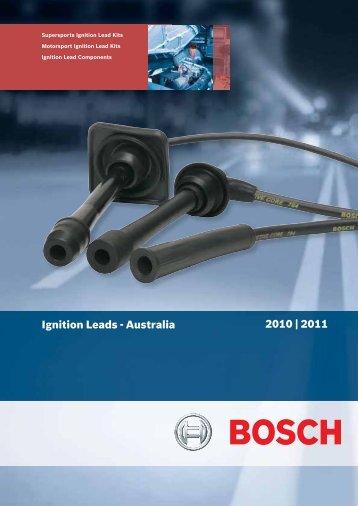 Ignition Lead - Bosch Australia