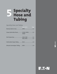 Specialty Hose and Tubing - Chester Paul Company