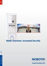 IP Video Door Station T24 Modules - Mobotix