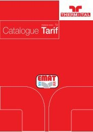 Catalogue Tarif - EMAT