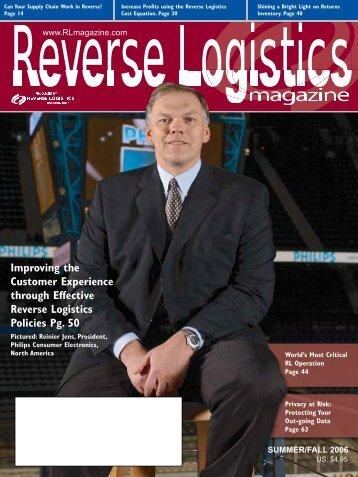 RlTS laS vEgaS 2006 - Reverse Logistics Magazine