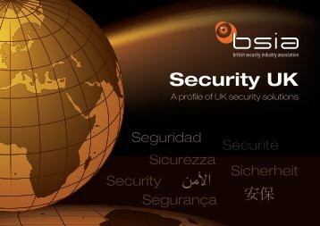 English - British Security Industry Association