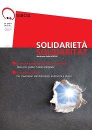 CISL giornale ITA Marzo12.indd - SGB - CISL