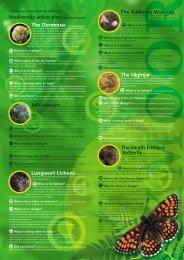 Exmoor National Park Authority BAP Leaflet