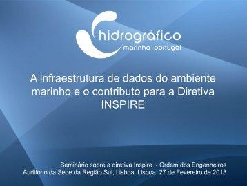 Integração e Disseminação da Informação - Instituto Hidrográfico