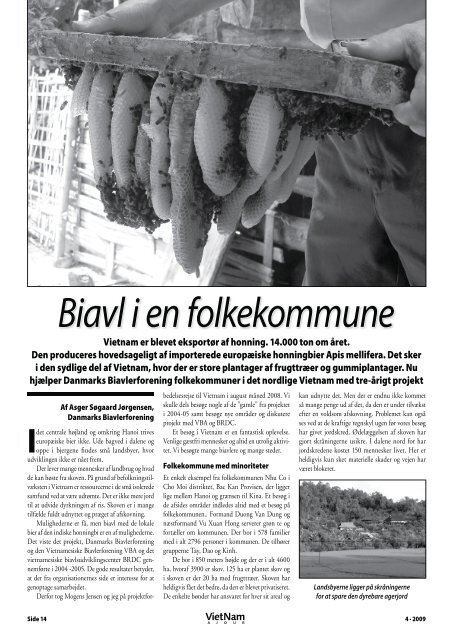 Biavl i en folkekommune - Dansk Vietnamesisk Forening