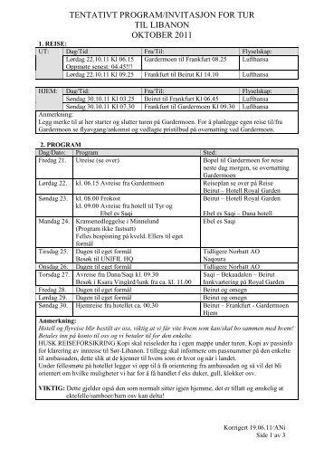 INVITASJON FOR TUR TIL LIBANON OKTOBER 2011.pdf - Nvio