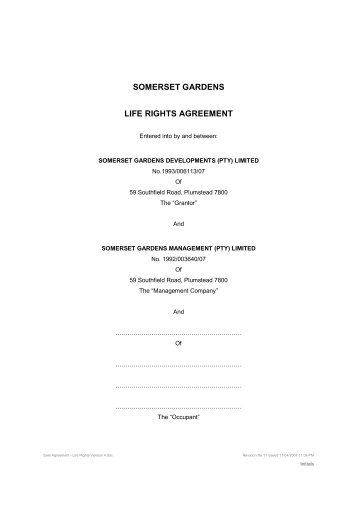 Sale Agreement Sectional Title Fixed Levy For Life Pam Golding