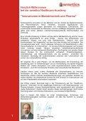 senetics Schulungsprogramm - Seite 2
