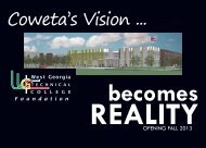 becomes REALITY - West Georgia Technical College