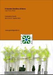 Il Grande Giardino di Brera - Grandi Giardini Italiani