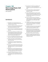 Chapter 148 Non-Langerhans Cell Histiocytosis