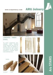 Aru STAIRS - aru joinery