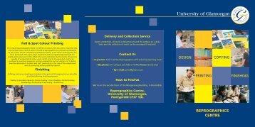 reprographics centre - University of Glamorgan