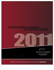 Download the directory in PDF format - Halifax Chamber E-Directory ...
