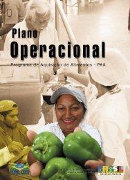 Plano Operacional - Programa de Aquisição de Alimentos (PAA)