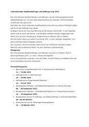 Internationaler Edelbluthaflinger und Haflinger-Cup 2012 Der ...