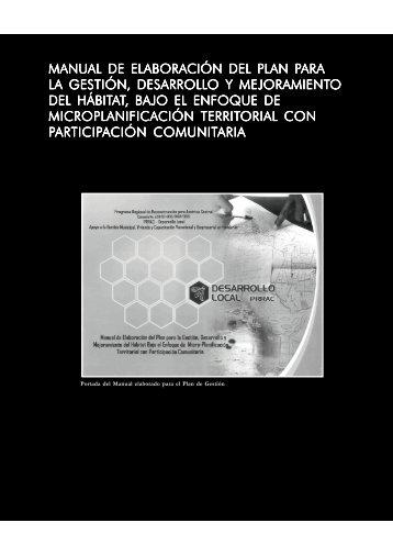 PDF (Capítulo 2.3. Manual de elaboración del plan para ... - HDRNet