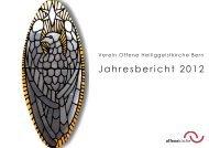 Jahresbericht 2012 - offene kirche