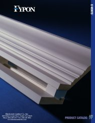 Fypon E-Vents Catalog - Blackstock Lumber Co., Inc.