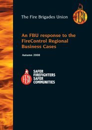 An FBU response to the FireControl Regional Business ... - Fbu.me.uk