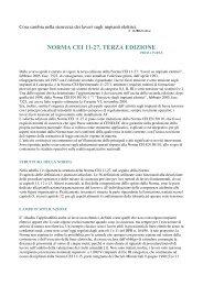 NORMA CEI 11 27, TERZA EDIZIONE - Sicurweb