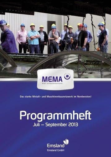 Programmheft 03/2013 - MEMA