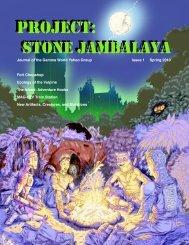 Project: Stone Jambalaya Issue 1