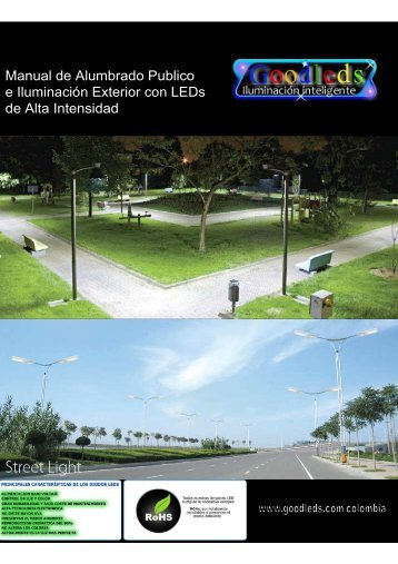 manual de alumbrado público con led. - Goodleds Colombia