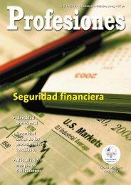 Seguridad financiera - Revista Profesiones