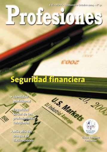 Seguridad financiera - Revista Profesiones