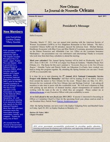 New Orleans Le Journal de Nouvelle Orleans - National Finance ...