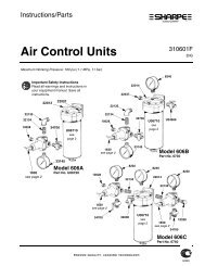 Air Control Units - Sharpe Manufacturing Company