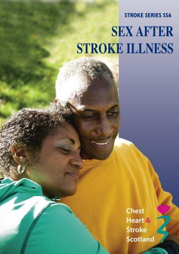 Sex After Stroke Illness - Chest Heart & Stroke Scotland