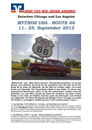 ROUTE 66 11.- 25. September 2012 - VR-Bank Landshut eG